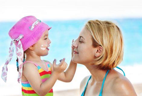 Cómo proteger a tus hijos en verano